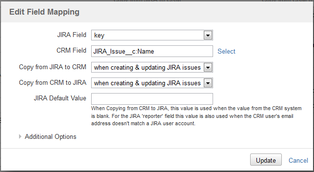 Linking more than one JIRA issue to a Salesforce Record - CRM Plugin